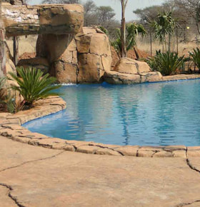 Cemcrete DecoCrete Textured Non Slip Pool Coping