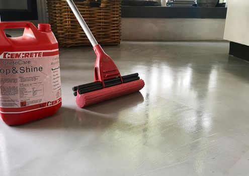 Floor Maintenance - Tips and products to maintain your Cemcrete